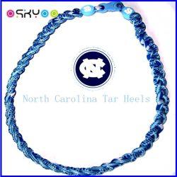 Noi collane Braided di titanio della corda di ciclone americano di baseball 3 (P055)