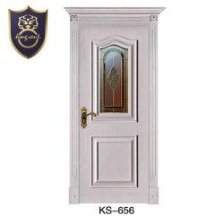 Les portes d'entrée porte en bois avec tête supérieur Fancy Jamb Designs