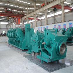 تستخدم مصانع الدلفنة الفولاذية الأفقية والعمودية لبار الفولاذ والقضيب السلكي