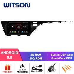 Witson 10.2インチToyota Camry 2018年(低速)の大きいスクリーン車のDVDプレイヤーGPS