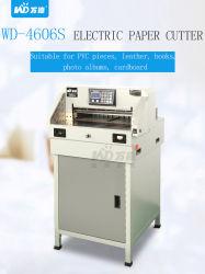 Collier de serrage automatique Backgauge électronique avec affichage LCD Electric guillotine coupe papier (DEO-4606S)