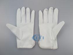 Luvas de borracha antiestática (PU palm) luvas de trabalho