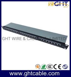 FTP Cat5e 24포트 패치 패널