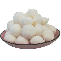 Materiale del filtrante della sfera del poliestere dell'acquario della sfera della fibra bio- della spugna ad alta densità bianca di purificazione