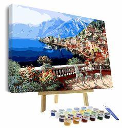L'artisanat de graphie bricolage Peinture Peinture d'huile/adultes par le nombre Kits/peinture acrylique/N1