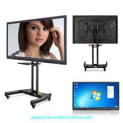 65 '' - 110 '' tutti in un Whiteboard interattivo IR Multi-Toccano lo schermo dell'affissione a cristalli liquidi con il sistema doppio per Learining