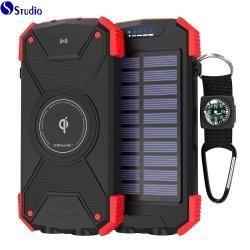 Mayorista de la fábrica móvil inalámbrica de Energía Solar de Qi Qi10W batería externa portátil cargador