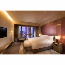 厚遇の現代最高のホテルの寝室組の家具セット