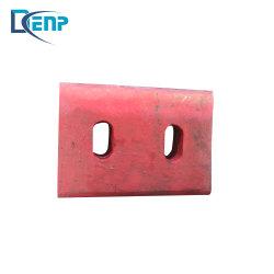 Shanbao PE400*600 broyeur à mâchoires de pierre Pièces d'usure de la plaque bascule en haute qualité