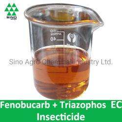 Fenobucarb 21% + antiparassitario dell'insetticida di EC di Triazophos 14% & acaricida Nematicide