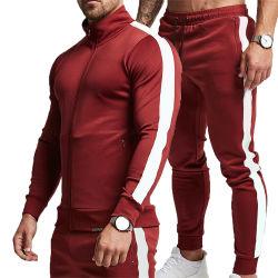Commerce de gros de la sueur costumes hommes personnalisé nouveau style salle de gym survêtement costume de jogging de chenille