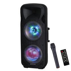 Luz intermitente LED 12'' de doble etapa inalámbrico USB Altavoz carro