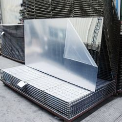 strato di plastica dello specchio del PVC non di colore d'argento rigido della laminazione di formato 4X8