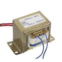 Les parties électriques de l'AE 35 Transformateur de puissance