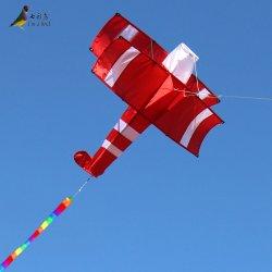 Novo Vermelho 3D Avião Kite com 10m de cauda