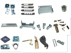 Het douane Vervaardigde Metaal van het Blad voor ElektroComponenten