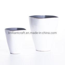 De PP branco viveiro de plástico reciclável vasos de plantas