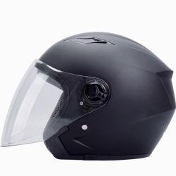 ABS materielles Motorrad-geöffneter Gesichts-Sicherheit Casco Sturzhelm