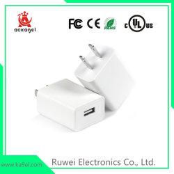 2Un téléphone mobile chargeur USB voyage avec UL FCC