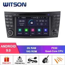 Android Witson 9.0 aluguer de DVD para Mercedes Benz veículo GPS Vídeo Multimedia
