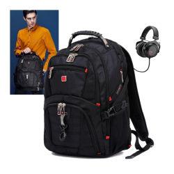 Grande capacité militaire étanche extérieur Mens Ordinateur portable sac à dos Sac à dos Sac de voyage