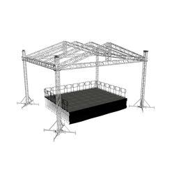 Armação de alumínio do sistema do teto da cabine de DJ Truss treliça de alumínio para venda