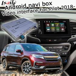 GPS van Lsailt het Androïde Systeem van de Navigatie voor Honda Proef 2018 - de VideoInterface van enz. met Carplay AchterMening Yandex Navi Waze enz.