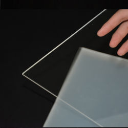 인쇄를 위한 최신 판매 투명한 엄밀한 애완 동물 플라스틱 두꺼운 장