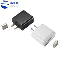 Tapón de la UE de doble puerto USB 2.1A Adaptador de alimentación Cargador de teléfono móvil