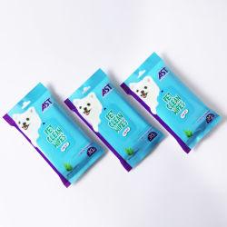 30 feuilles lingettes lingettes de toilettage pour animaux de compagnie Chiens Chats
