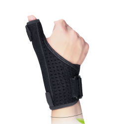 Stecca registrabile del pollice della parentesi graffa di sostegno di manopola della mano di sport del neoprene