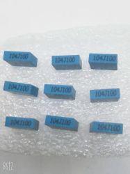 Pacchetto di plastica blu 104j100V delle coperture delle mini della casella Cl71 di poliestere della pellicola del condensatore coperture del quadrato