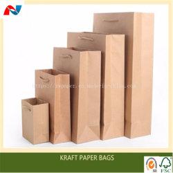 平底袋の作成のためのよい価格のクラフト紙50GSM