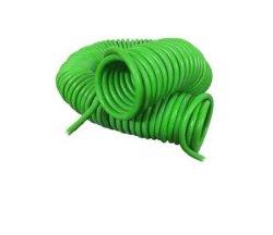 Con una extensión de cable en espiral tipo Enrollado eléctrico