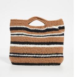 Dernière corde de coton tricotés à la main un sac de shopping