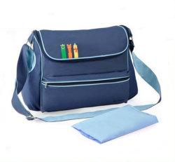 Moda distribuidor mamá cómoda bolsa de pañales con el cambio de notas