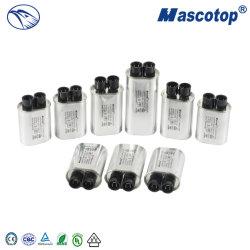 Mikrowellenherd-Hochspannung-Kondensator gute Qualitäts-Wechselstrom-2100V CH85