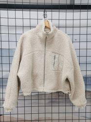 Женщин теплое пальто Тедди фо мех роскошные меховые Outerwear женщин
