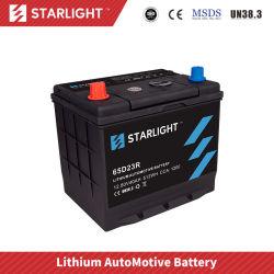 12V40AH 65D23r ion-lithium batterie de voiture pour SUV/ Automobbile