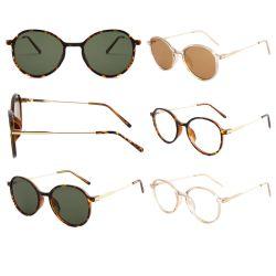 Новый стиль модные очки Экструкция очки Ацетат Металл дизайн оптика очки Винтажный стиль Круглые очки очки очки очки рамка Оптические очки рама Очки