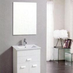 Luz do espelho de chão de PVC personalizada de armário de casa de banho moderna