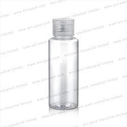 装飾的なプラスチック油壷のパッキングが付いている白く新しいデザイン50ml装飾的な容器のプラスチックびん