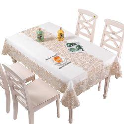 طاولة لتناول الشاي القهوة قماش مطرز مطرز على شكل قطعة قماش عصرية طاولة مستديرة بسيطة تغطى الديكور المنزلى