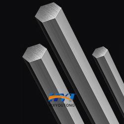 Barre hexagonale en acier inoxydable solide barre hexagonale Barre de coupe zéro barre hexagonale du matériel