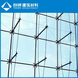 1 2 4 6 Armas A aranha para encadernação de parede de cortina de vidro (SS304, SS316)