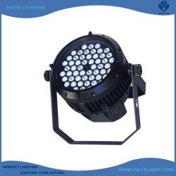 IP65 RGBW 54X3W LED PAR 건축용 실외등