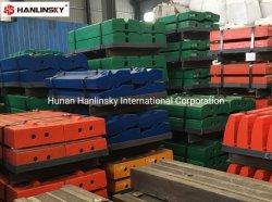 높은 망간/높은 크롬/크롬 강철/마르텐시틱/마르텐사이트/세라믹 / MMC 블로우바 - 임팩터/임팩트 크라샤를 위한 광산/종합/모래 제조