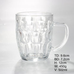 Café cerveza de cristal de bloqueo de la copa de vino Jarra para beber té de Whisky de jugo de vaso de agua