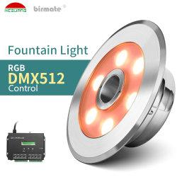12 فولت RGB مصابيح بركة تحت الماء إضاءة IP68 ضوء LED لضوء المياه مصابيح النافورة
