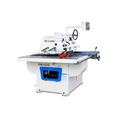 Maquinaria para la madera Recta sierra longitudinal de la máquina de trabajo mesa de corte de madera fabricado en China QMJ153S único chip Ripsaw Sierra